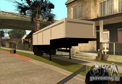 Realistic Arctic2 Trailer для GTA San Andreas вид справа