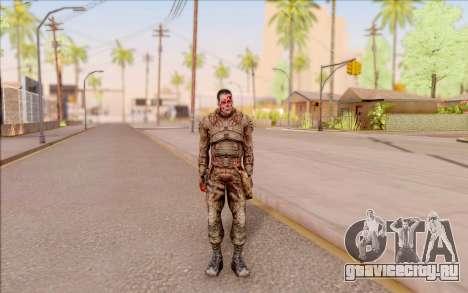 Зомби Дегтярёв из S.T.A.L.K.E.R. для GTA San Andreas второй скриншот
