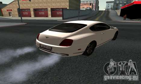 Bentley Continental GT Armenian для GTA San Andreas вид слева