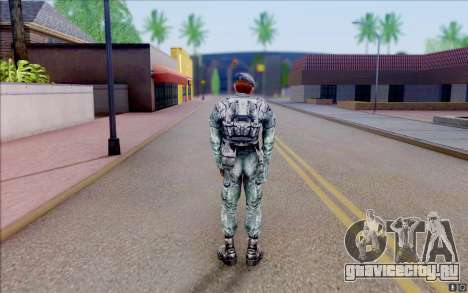 Полковник Коппер из S.T.A.L.K.E.R для GTA San Andreas четвёртый скриншот