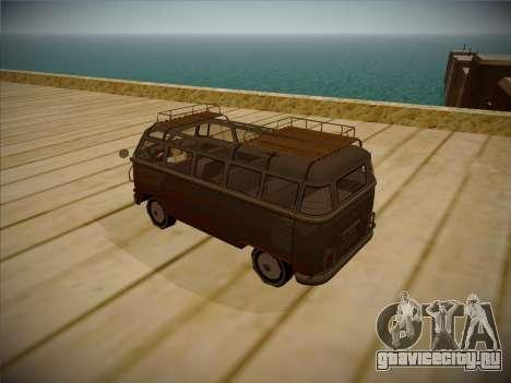 Volkswagen Samba BUS 1959 для GTA San Andreas вид справа