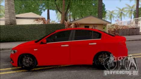 Fiat Tipo Netron Tuning для GTA San Andreas вид слева
