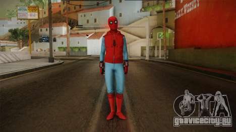 Spiderman Homecoming Skin v2 для GTA San Andreas второй скриншот