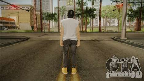 DLC Smuggler Male Skin для GTA San Andreas третий скриншот