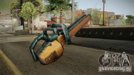 Motosierra Doble Hoja Version Oxidada для GTA San Andreas третий скриншот