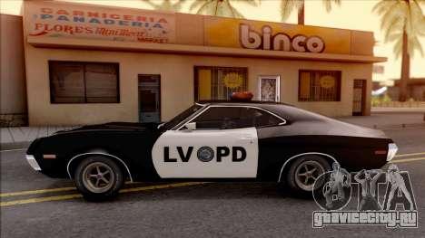Ford Gran Torino Police LVPD 1972 v3 для GTA San Andreas