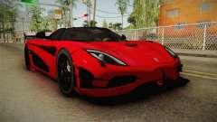 Koenigsegg Agera RS v2 для GTA San Andreas