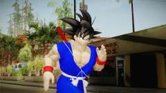 Goku Original DB Gi Blue v1 для GTA San Andreas
