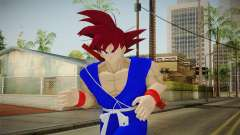 Goku Original DB Gi Blue v2 для GTA San Andreas
