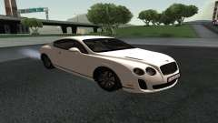 Bentley Continental GT Armenian для GTA San Andreas