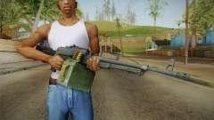 Battlefield 4 - PKP Light Machine Gun для GTA San Andreas