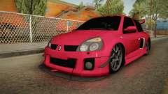 Renault Clio v6 для GTA San Andreas