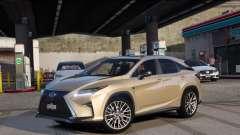 Lexus RX450H F-Sport Final