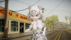 Kemono Friends - White Tiger для GTA San Andreas