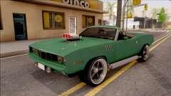 Plymouth Hemi Cuda 426 Cabrio 1971 для GTA San Andreas