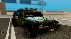 Jeep Wrangler для GTA San Andreas