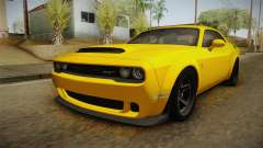 Dodge Challenger 2017 Demon для GTA San Andreas