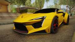 Asphalt 8 - Fenyr SuperSport W Motors для GTA San Andreas