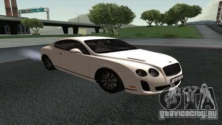 Bentley Continental GT Armenian для GTA San Andreas