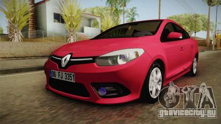 Renault Fluence Touch для GTA San Andreas