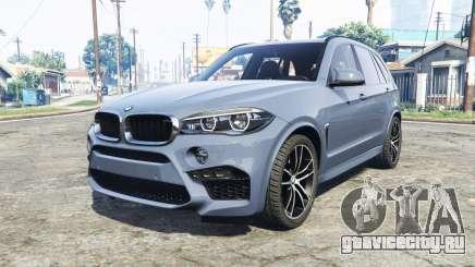 BMW X5 M (F85) 2016 [replace] для GTA 5