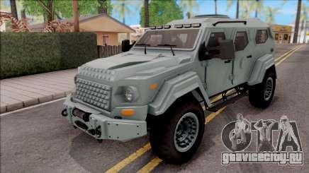 Terradyne Gurkha LAPV для GTA San Andreas