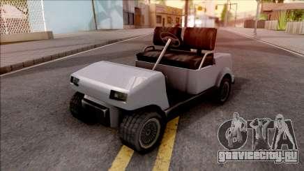 Roofless Civilian Caddy для GTA San Andreas