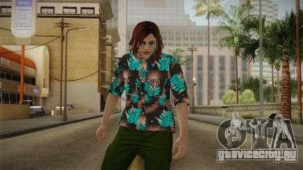 DLC Smuggler Female Skin для GTA San Andreas