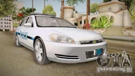 Chevrolet Impala 2011 Police для GTA San Andreas