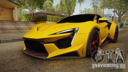 Asphalt 8 - Fenyr SuperSport W Motors для GTA San Andreas