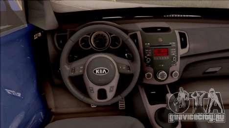 Kia Soul для GTA San Andreas вид изнутри
