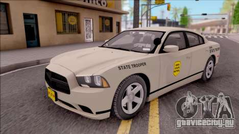 Dodge Charger Slicktop 2012 Iowa State Patrol для GTA San Andreas