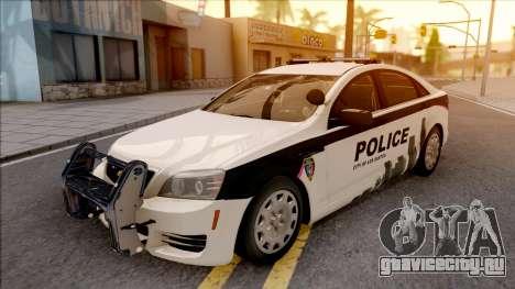 Chevrolet Caprice 2013 Los Santos PD v1 для GTA San Andreas