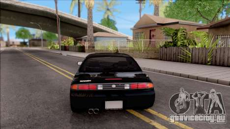 Nissan 200SX для GTA San Andreas вид сзади слева