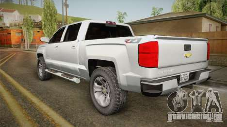 Chevrolet Cheyenne LT 2016 для GTA San Andreas вид слева