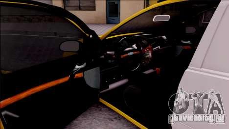 Ford Focus Mk1 Turkish Taxi для GTA San Andreas вид изнутри