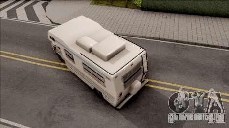 Journey Post Apocalyptic Beta для GTA San Andreas вид сзади