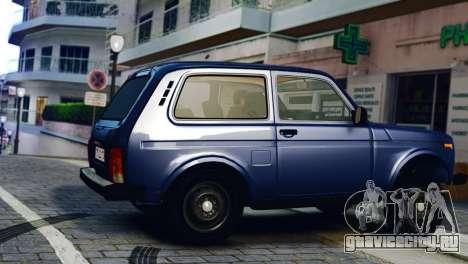 Vaz 2121 Niva для GTA 4 вид слева