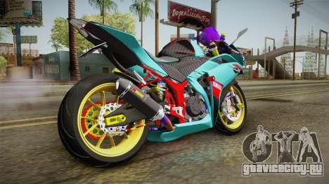 Yamaha R25 Contest для GTA San Andreas вид слева