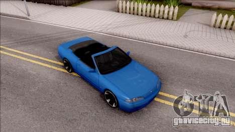 Nissan Skyline R32 Cabrio для GTA San Andreas вид справа