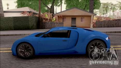 Truffade Adder для GTA San Andreas вид слева