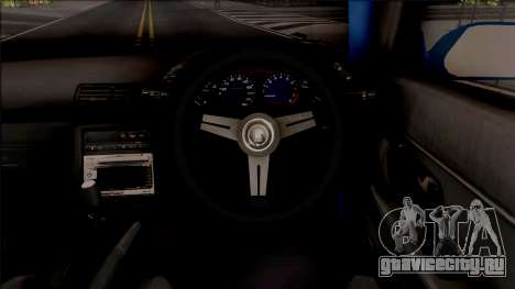 Nissan Skyline R32 Pickup Rocket Bunny v2 для GTA San Andreas вид изнутри
