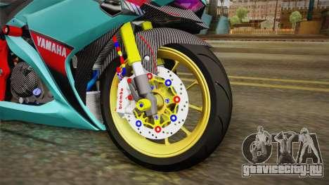 Yamaha R25 Contest для GTA San Andreas вид сзади