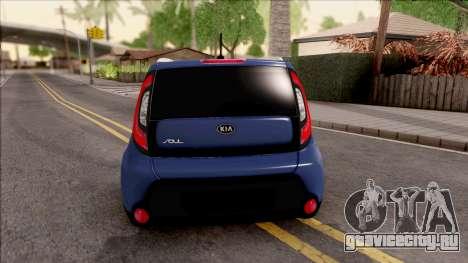 Kia Soul для GTA San Andreas вид сзади слева
