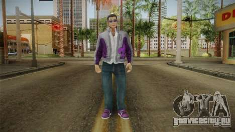 Saints Row IV - Johnny Gat для GTA San Andreas второй скриншот