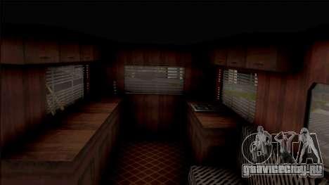 Journey Post Apocalyptic Beta для GTA San Andreas вид изнутри