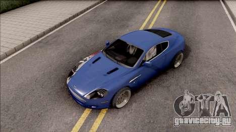 Aston Martin DB9 Drift Style - Drift Handling для GTA San Andreas вид справа