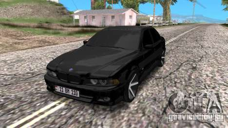BMW E39 Armenian Vossen для GTA San Andreas