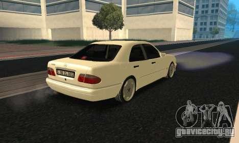 Mercedes-Benz E420 Armenian для GTA San Andreas вид слева
