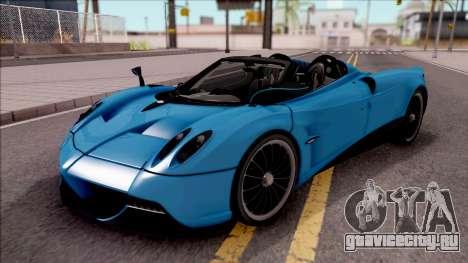 Pagani Huayra Roadster для GTA San Andreas